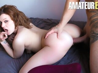 CastingFrancais - Big Ass Canadian Newbie Tries Porn For The First Time amateureuro butt