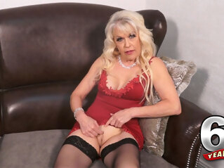Meet Lady S. She Used To Be Mrs. S. - Lady S - 60PlusMilfs blonde casting
