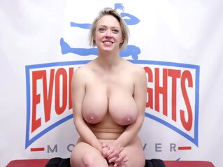 Mixed wrestling with facesitting and riding bdsm big tits