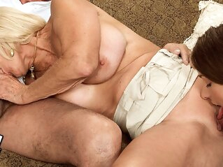 Georgette And Friend's Teen Pussy Pal - Georgette Parks And John Pepper - 60PlusMilfs high heels mature