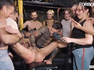 Sexy Rough BDSM Erotic Play For Busty Blonde big tits blonde