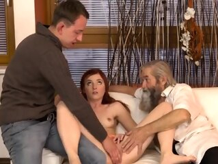 My step daddy made me and old granny handjob Unexpected prac fingering hd